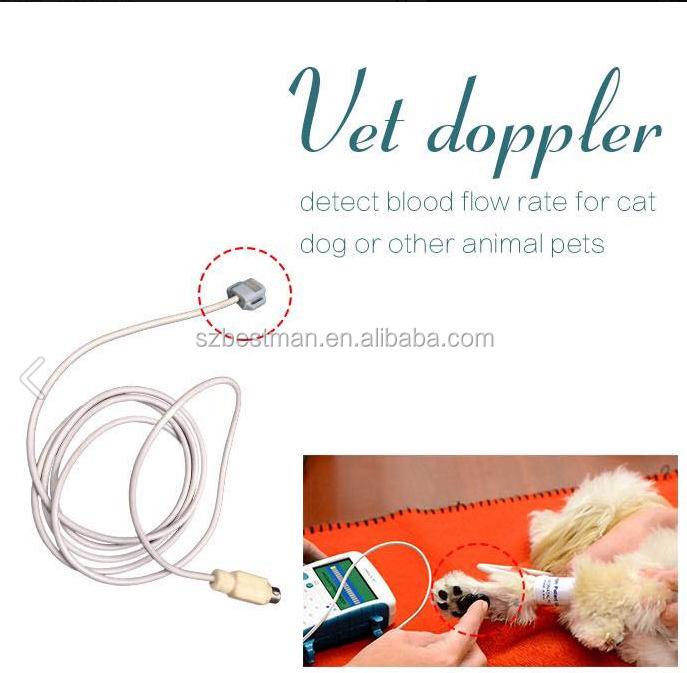Cheap vascular dopplar for animal BV520
