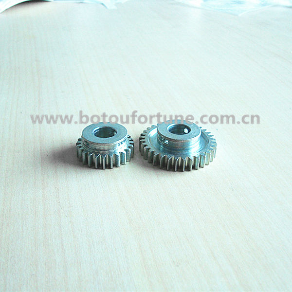double spur gear 1M spur gear with 32teeth for cnc machine