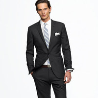 Microfiber formal mens designer vest and pants set
