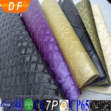 interior wall stone decoration emboss flower pattern PU/PVC soft artficial leather woven or nonwoven fabric