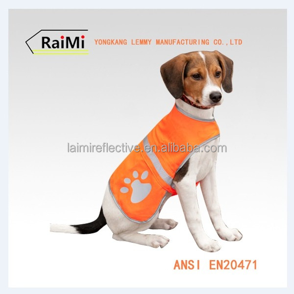 New Product Guaranteed Quality dog pet reflective vest