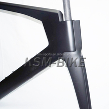factory sale glossy finish Toray carbon tt bike frame bb86 time trial bicycle frameset