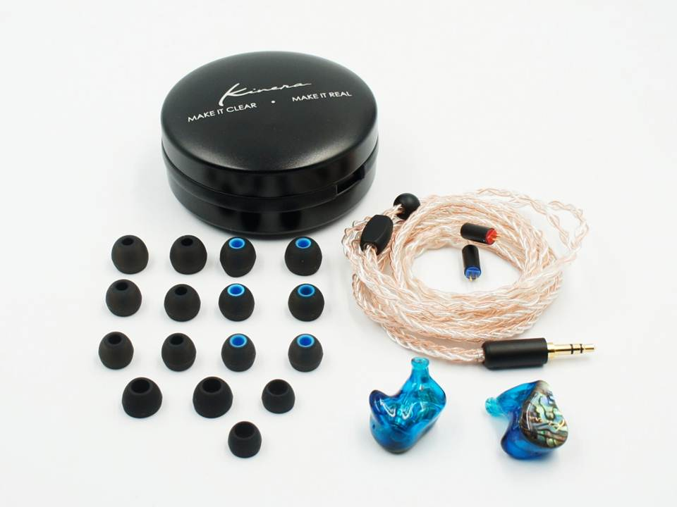 KINERA IDUN In Ear Earphone 2BA+1DD Hybrid Sport Earphone With Silver Copper Weave Cable
