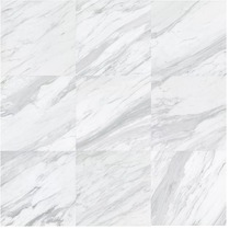 24x12 matte finished marble look new design non slip white indoor porcelain tile for bathroom