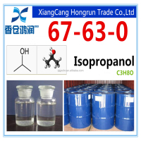 99.5% min Isopropyl alcohol for adhensive