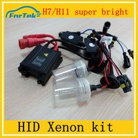 China manufacturer best selling h7 hid xenon kit high light easy installation hid lamp hid projector