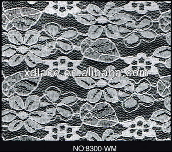 African Antique Swiss Voile Cotton Lace Fabric