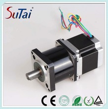 planetary geared nema 34 gearbox stepper motor ratio 1/4 to 1/100