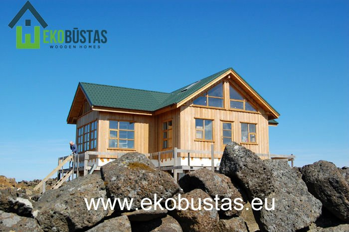 Custom prefab wooden houses