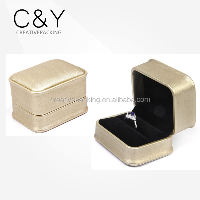 Golden Design Luxury Leather Jewelry Ring Box for Sale & Golden Design Luxury Leather Jewelry Ring Box for Sale View ring ... Aboutintivar.Com
