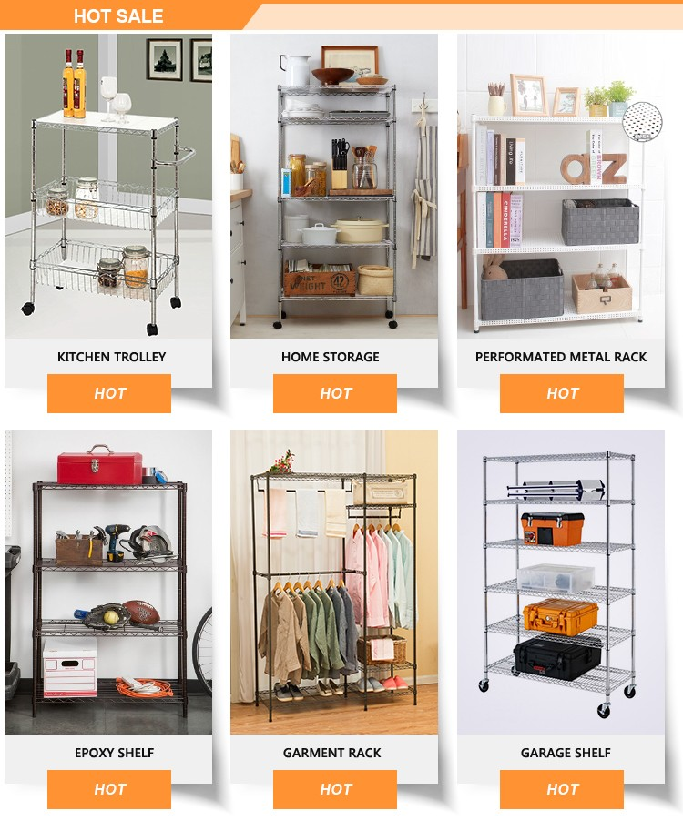 Household DIY Style Living Room Storage Wood Steel High Furniture