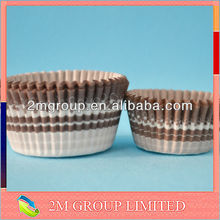 brown paper baking cup/cake cups/cake mold