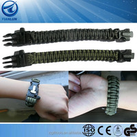 Paracord rope Survival Bracelet Military Emergency Rope Outdoor Outdoor Paracord Jewelry