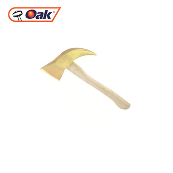 different types Aluminum copper wood handle fireman axe