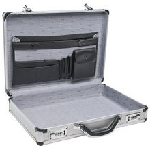 Lightweight Aluminum Metal Business Office Hard Briefcase