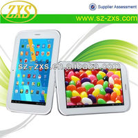 SZ-(ZXS-A7-2G) 2013 7 Inch Mid MTK6515 Dual Core Sim Calling Tablet with Skype Video Call Tablet PC