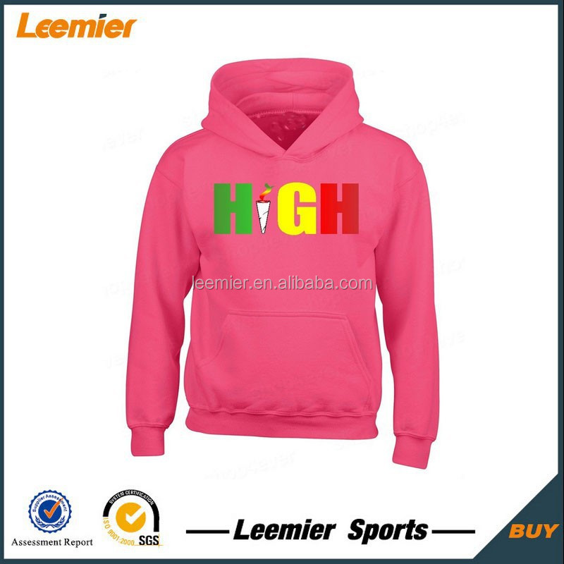 OME japan style pink color hoodies