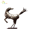 Handmade Bronze Outdoor Horse Sculpture for Garden Decor
