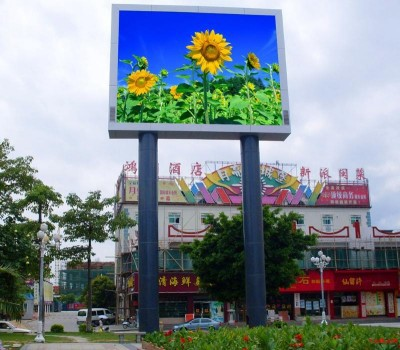 new product p10 full color outdoor led flat panel displays P8 P10 P12 P16 P20 led signs