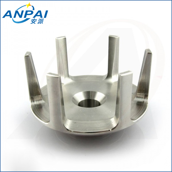 3D CAD drawing services appliance parts metal baffle cnc machining cnc machine milling stainless steel product