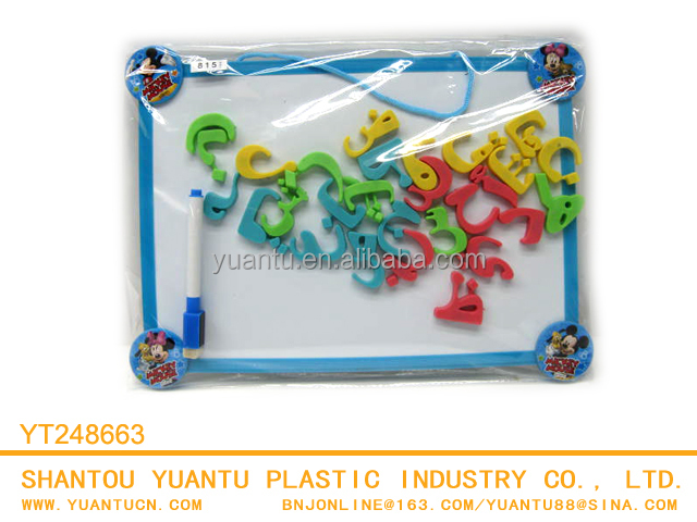 educational toys for kids learning words magnetic letters plastic letters for children with drawing board
