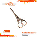 B4171 Super Quality New Design Eiffel Tower Shape Stainless Steel Beauty Scissors with Titanium Plated