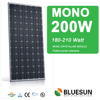 2014 top cheaper ISO 200 watt solar panel