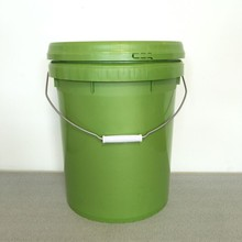 20 liter container Food Grade 5 Gallon plastic buckets with handle and lid