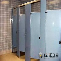 LIJIE Customized Top Quality Toilet Cubicles / Stainless Steel Toilet Partition