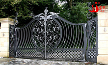 Residential new design wrought iron gate for American market