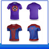 Super Hero Dry Sublimation T-shirt Printing with Short Sleeve and Long Sleeve