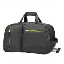 Hot selling wear resistance multi function cheap travel trolley luggage bag