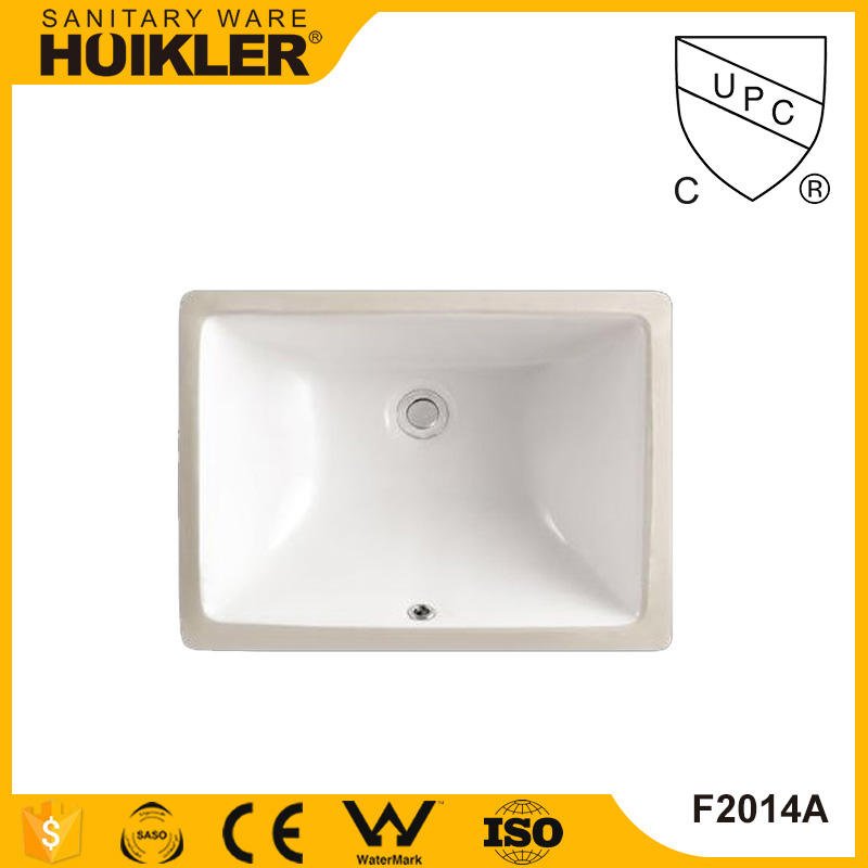 Cheap art white color ceramic face wash basin toilet semi recessed large deep basin
