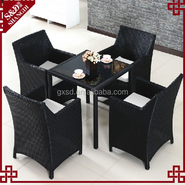 SD rattan outdoor tea table furniture