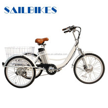3 wheel electric bicycle tricycle electrique adulte