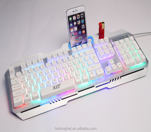 Mechanical keyboard feel 2017 wholesale original new illuminated backlight keyboard for smart phones PC tablet laptop