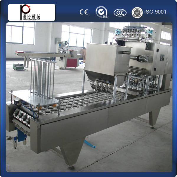 CE standard manufacture yogurt cup packaging machine