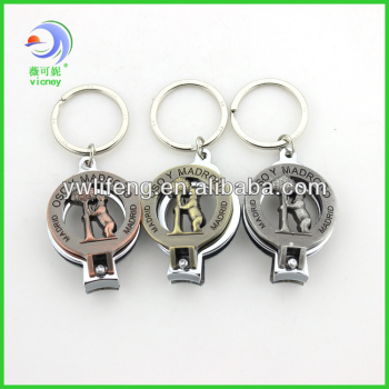 Metal Nail Clipper Keychain