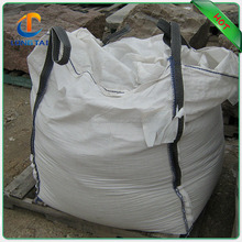 PP material large plastic storage bag, 1 ton plastic bag for grain loading, one ton bag for agriculture use