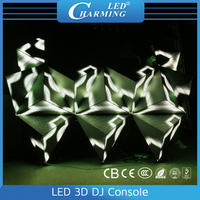 Cool magic 3d effects led dj display/P6.15 module/screen showing for disco,nightclub/club stage light