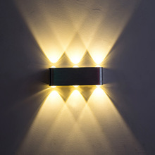 UP & Down LED Wall Light Decorate home Indoor lighting Led Wall Lamps AC100V 220V Aluminum Wall Sconce corridor