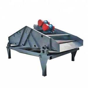 Linear Vibrating Tailing Screen / Mineral Sludge Dewatering Machine