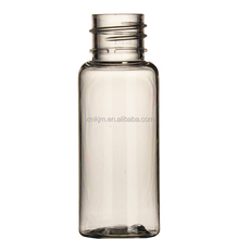 Custom made 20ml perfume pet plastic bottle for sale