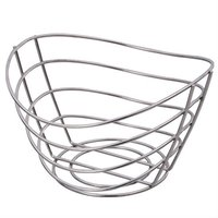 Metal wire fruit holder basket