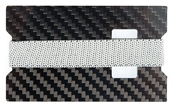 100% Real Carbon Fiber Minimalist wallet Carbon Fiber Bottle Opener Carbon Fiber Card Holder