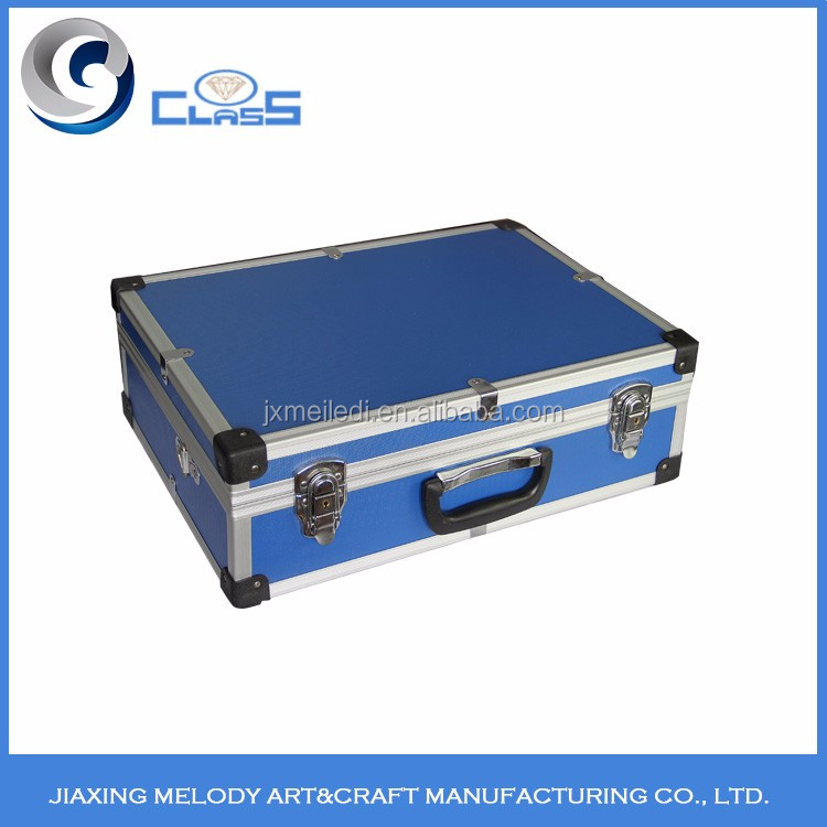 Wholesale high quality multi-color aluminum tool box aluminum storage box aluminum box