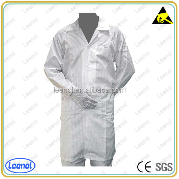 Good Quality clean room protective garments gmp clothing ESD Coverall