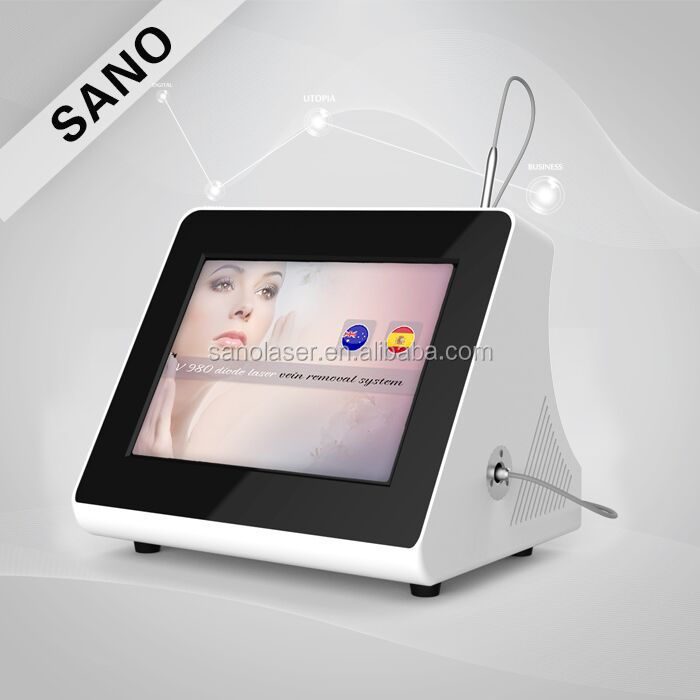 Medical CE approved high frequency skin tag millia warts fat granule laser spider vein removal beauty machine