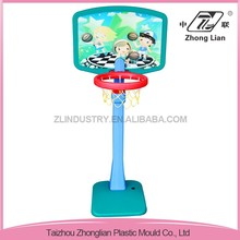 High quality plain plastic cheap stable middle size indoor basketball hoop