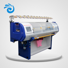 High speed commercial computerized flat 12G 52inch scarf knitting machine